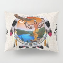 Indian Eagle Dancer Pillow Sham