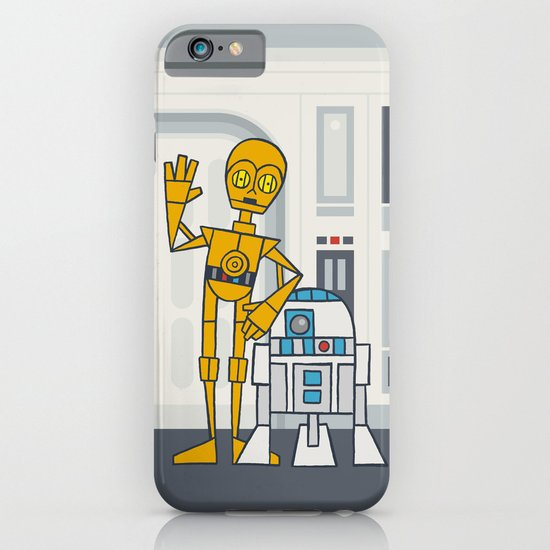 EP4 : C3PO & R2D2 iPhone & iPod Case