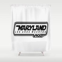 L  O  S    A  Ñ  O  S    M  U  E  R  T  O  S - MARYLAND - vigo - MarylandVigo Shower Curtain