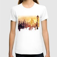 takmaj T-shirts featuring Charles Bridge by takmaj