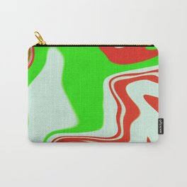 Peppermint Swirl Carry-All Pouch