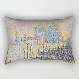 Grand Canal (Venice), Paul Signac, 1905 Rectangular Pillow