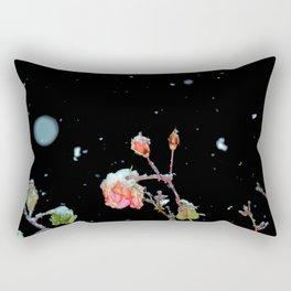 Falling Roses Rectangular Pillow