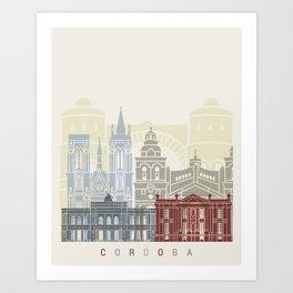 Cordoba AR skyline poster Art Print
