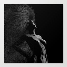 Circe by Moonlight Canvas Print