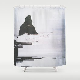 Fractions A12 Shower Curtain