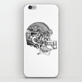Football Helmet iPhone Skin