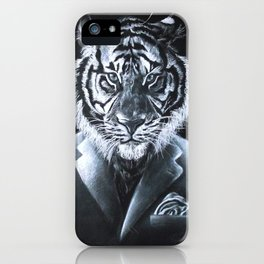 """""""Don't let the suit fool you."""" iPhone Case"""