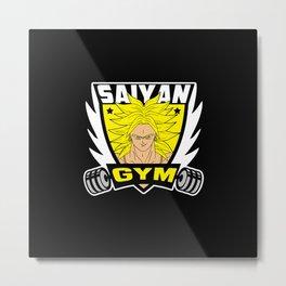 Anime Gym v4 Metal Print
