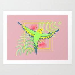 Raster Art Print