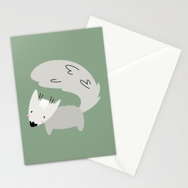 Fox print, Fox wall art, Nursery decor, Animal art, Baby animal prints Art Print Stationery Cards