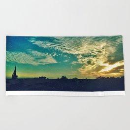 Charleston Skies Beach Towel