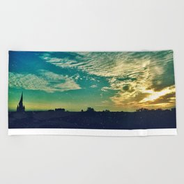 Charleston Skies Beach Towel