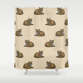 Fox Kit Shower Curtain