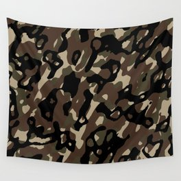 Camouflage Abstract Wall Tapestry