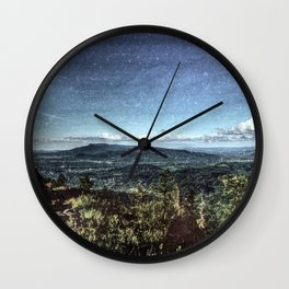 Above the Fog.  Wall Clock