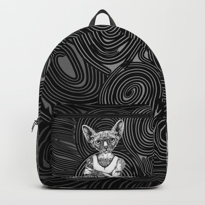 Grizzly and Sphynx Backpack