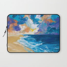 Stormy Sea Laptop Sleeve