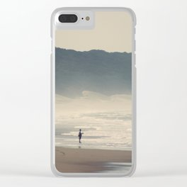 Fisherman at Cape Vidal Clear iPhone Case