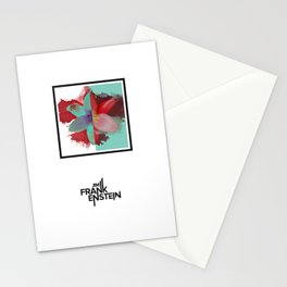 Cold Wind in the Garden Track Art Stationery Cards
