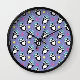 Space Panda Wall Clock