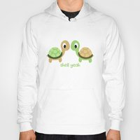 turtles Hoodies featuring TURTLES by Brittney Weidemann