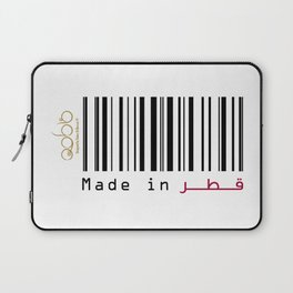 Made in Qatar Laptop Sleeve