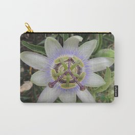 Passion Flower Blossom Carry-All Pouch
