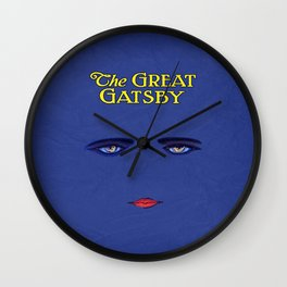 The Great Gatsby 01 Wall Clock
