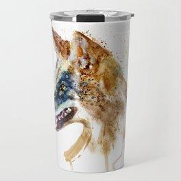 Coyote Head Travel Mug