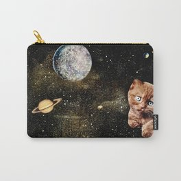 Blue Moon Kitty Carry-All Pouch