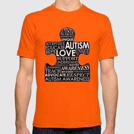 Autism Awareness Love T-shirt