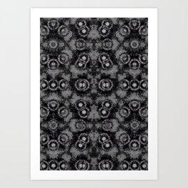 Crystalised Art Print