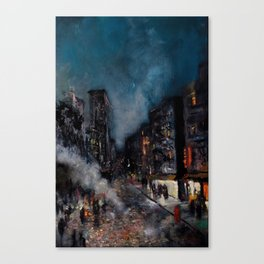 Meatpacking District Canvas Print
