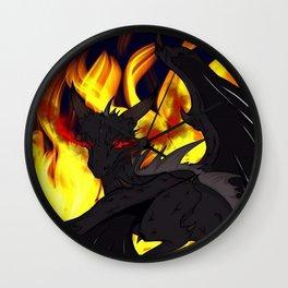 "Dragon Torrick - ""Flame"" Wall Clock"