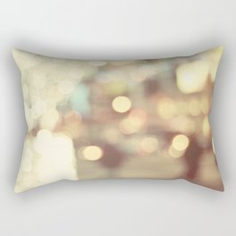 Bokeh in the City Rectangular Pillow