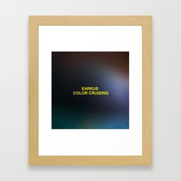 Color Cruising Framed Art Print