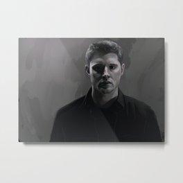 Dean Winchester. A Firewall Metal Print