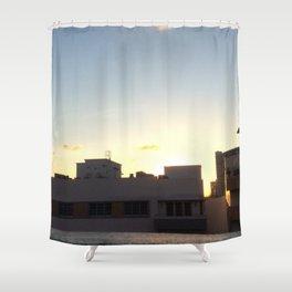 Sun & Shadows Shower Curtain