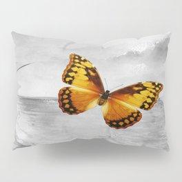 Yellow Morpho Pillow Sham