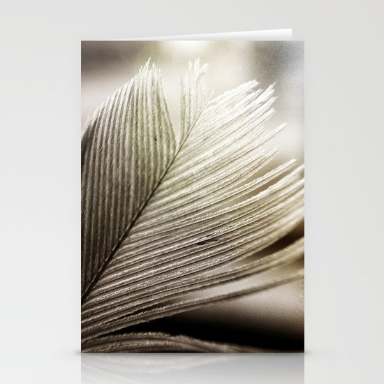 Feather Tip Stationery Cards