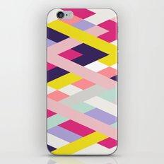 Smart Diagonals Blue iPhone & iPod Skin