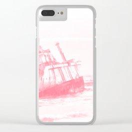 shipwreck aqrepw Clear iPhone Case