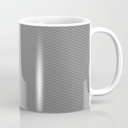 Emboss Gray Cross Hatch Coffee Mug
