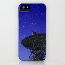 Watching the Sky iPhone Case