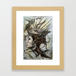 Daedalus' Daughter Framed Art Print