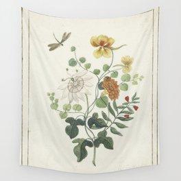 Machtelt Moninckx - Still life with flowers - 1600/1687 Wall Tapestry