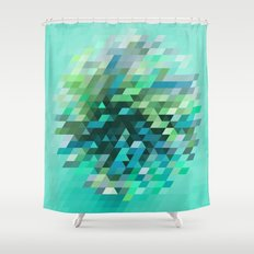 Cluster 2 Shower Curtain