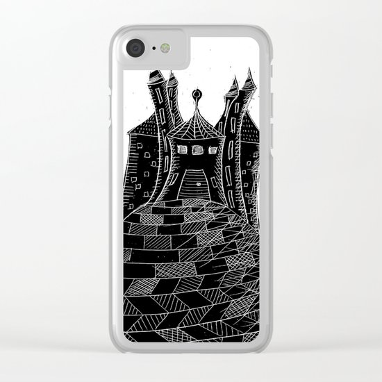 Bubu´s castle Clear iPhone Case