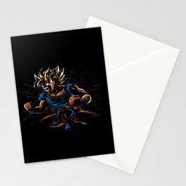 power goku Stationery Cards